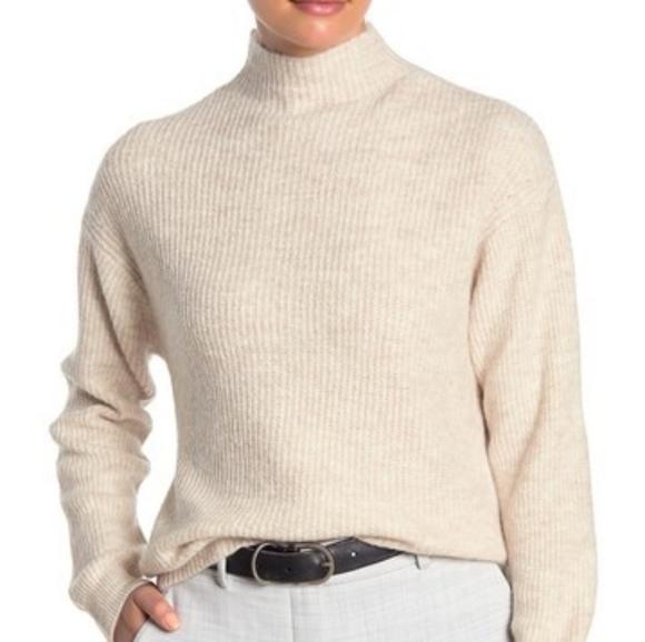 free press Sweaters - Free Press   beige heather mock neck cozy sweater